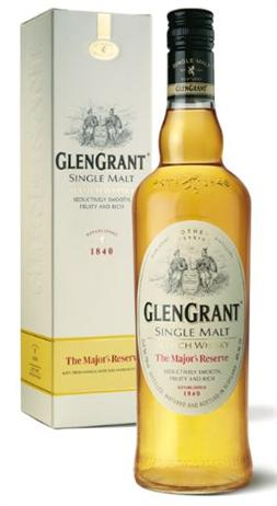 Glen Grant Scotch Single Malt The Majors Reserve